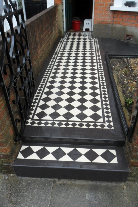Victorian Pathways Tile Restoration Amp Cleaning North London