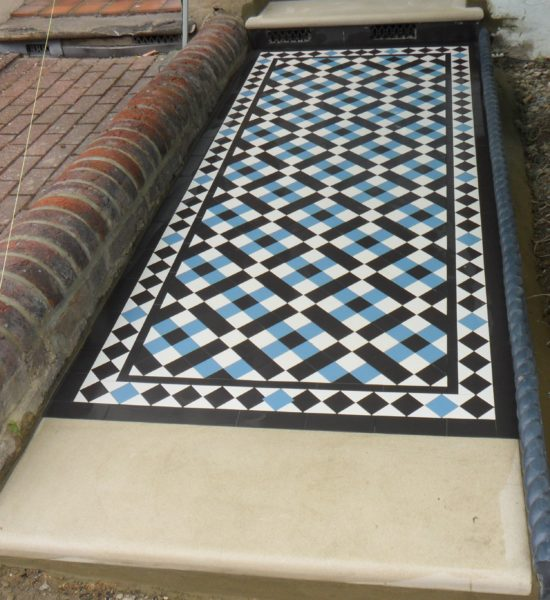 Victorian Hallway Pathway Floor Tiles Expert Tilers North London
