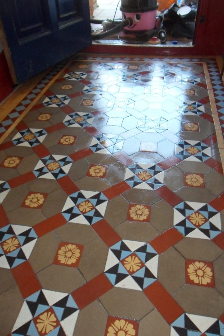 London Victorian Tile Restoration Expert Tilers North London