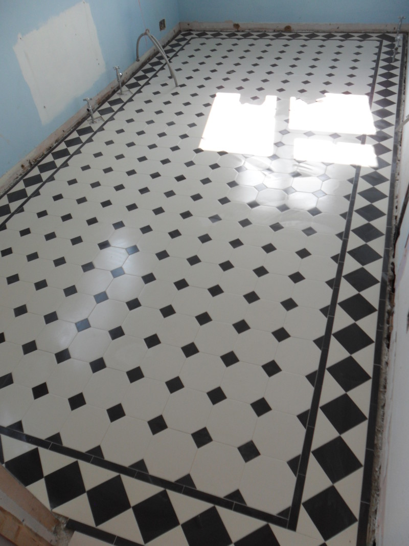 Victorian Bathroom Floor Tiling Tile Restoration
