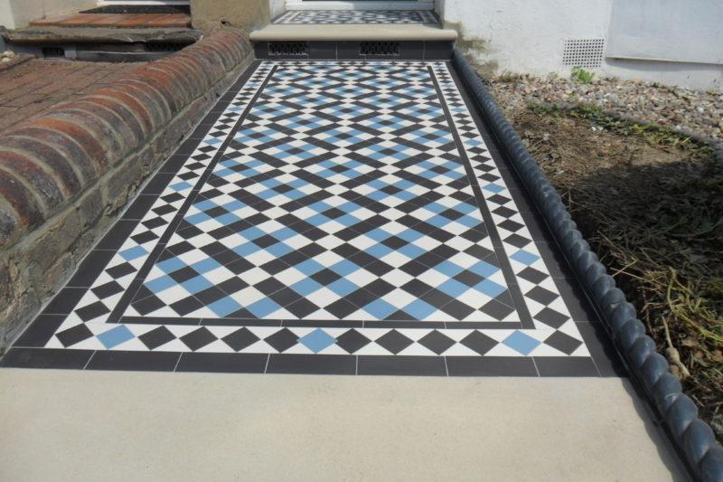 Beautifull Colliford Victorian tiling design