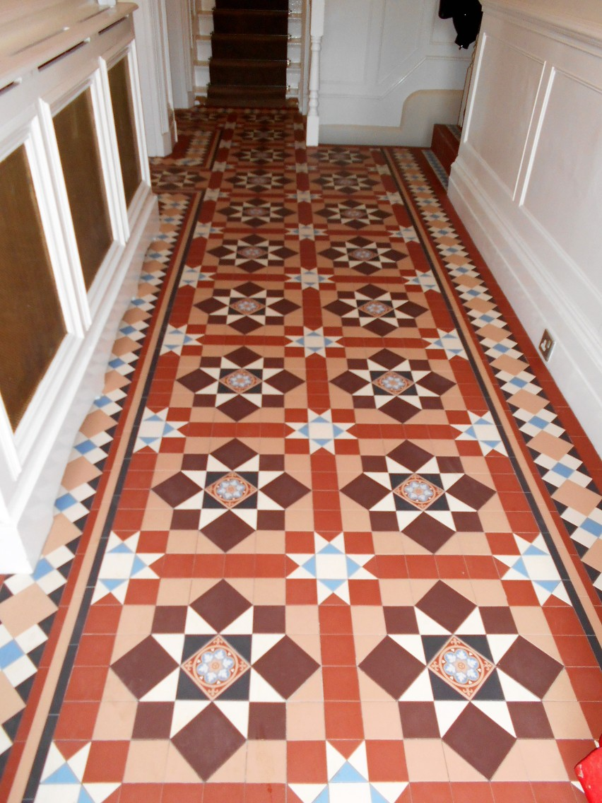 Victorian Tiled Hallways London Amp Herts Tile Restoration Amp Cleaning North London